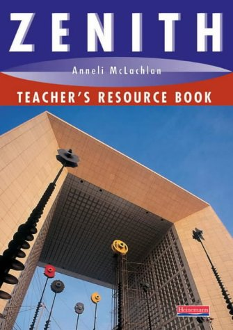 9780435375966: Zenith Teacher's Resource Book (Zenith 16-19)