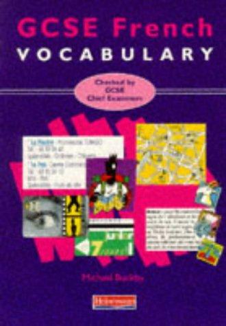9780435378592: GCSE French Vocabulary (Avantage)