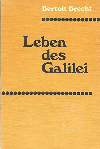 Life of Galileo (German Edition) (9780435381103) by Bertolt Brecht