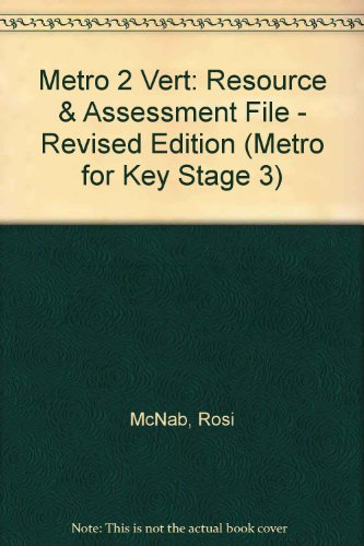 Metro 2 Vert: Resource & Assessment File - Revised Edition (0435383108) by McNab, Rosi; Green, Julie