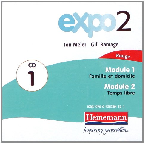 9780435384524: Expo 2 Rouge Audio Cds (Pack of Three)