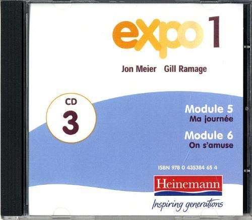 9780435384647: Expo 1 Audio CDs (pack of three): French