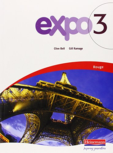 9780435385934: Expo 3: Rouge Pupil Book (Expo)