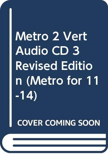 9780435387532: Metro 2 Vert Audio CD 3 (Metro for Key Stage 3)
