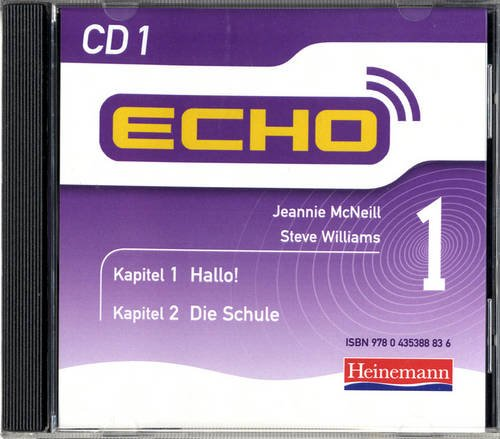 9780435388829: Echo 1 CD (Pack of 3) (Echo for Key Stage 3 German)