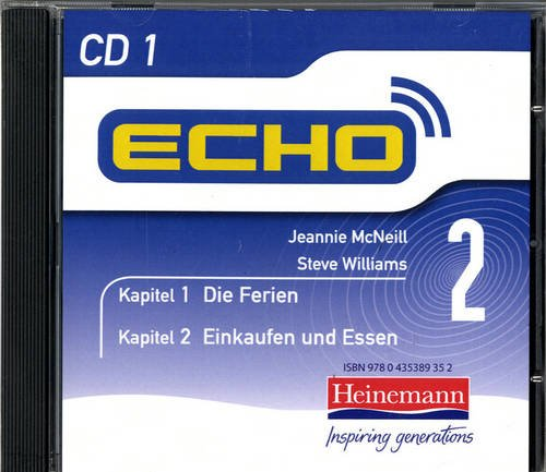 9780435389345: Echo 2 CD (Pack of 3) (Echo for Key Stage 3 German)