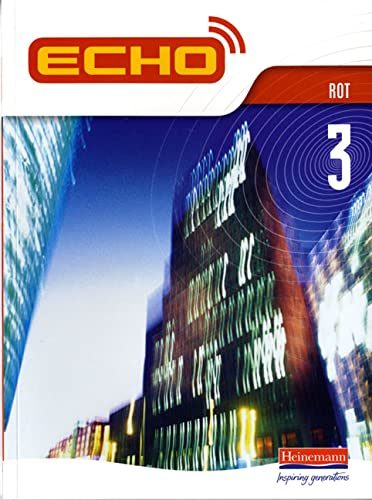 9780435389819: Echo 3 Rot Pupil Book