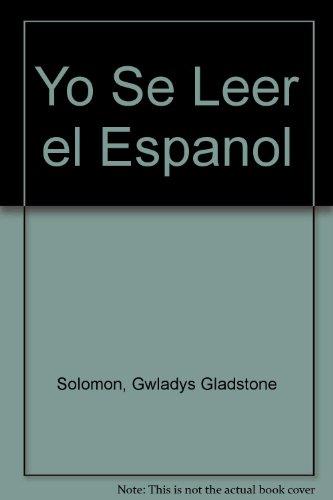 9780435390006: Yo Se Leer El Espanol