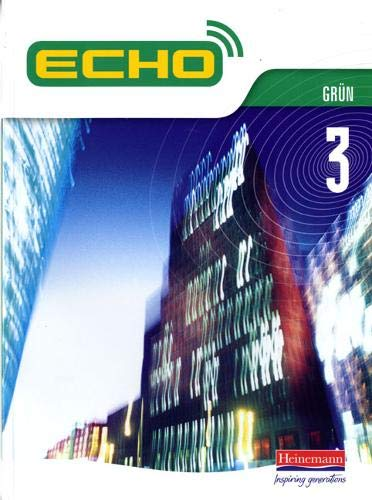 9780435391119: Echo 3 Grun Pupil Book