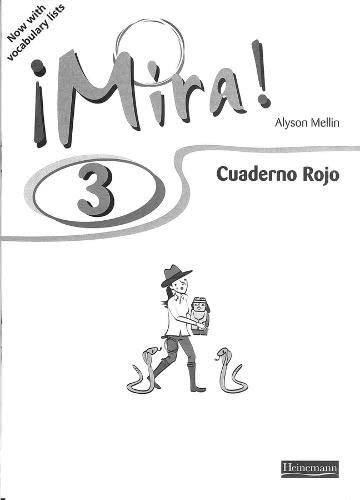 9780435391683: Mira 3 Rojo Workbook (Mira! (For Year 7 Starters))