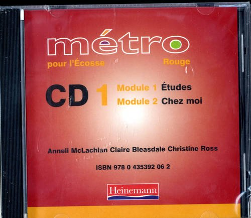 9780435392055: Metro Pour L'Ecosse Rouge Audio CD Pack of 4