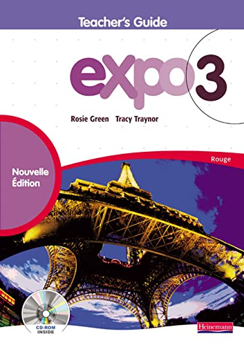 9780435392871: Expo 3 Rouge Teacher's Guide New Edition