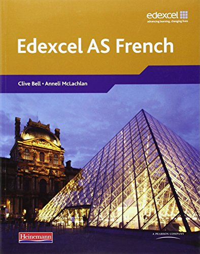 9780435396107: Edexcel A Level French (AS) Student Book & CDROM