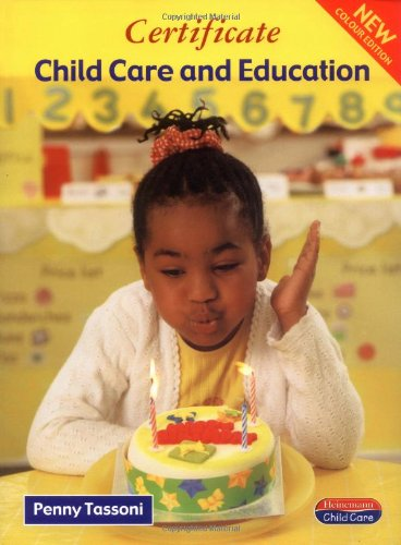 9780435401726: Certificate in Child Care and Education (Heinemann Child Care)