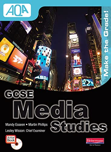 9780435404000: AQA GCSE Media Studies Student Book with Activebook CD-ROM (GCSE Media Studies for AQA)