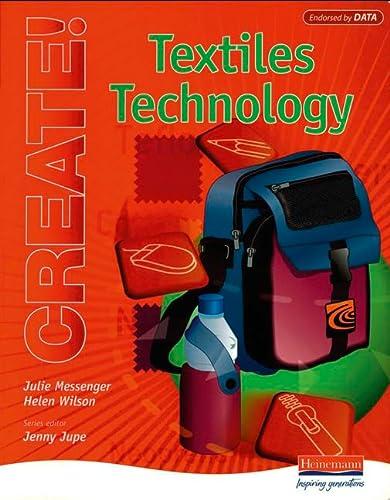 9780435412609: Create!: Textiles Technology Student Handbook (Create!)