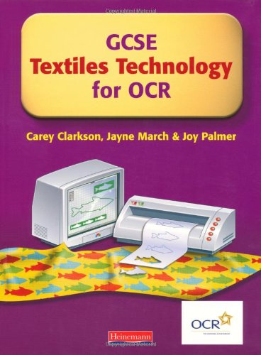 GCSE Textiles Technology for OCR: The Student: Carey Clarkson, Jayne
