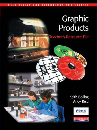 9780435417796: GCSE Design & Technology for Edexcel: Graphic Products Teacher's Resource File (GCSE Design and Technology for Edexcel: Graphic Products)