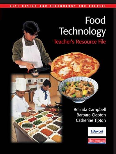 9780435417888: GCSE Design & Technology for Edexcel: Food Technology Teacher's Resource Pack (GCSE Design and Technology for Edexcel: Food Technology)