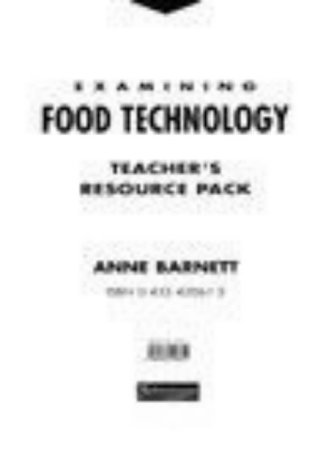 9780435420611: Examining Food Technology Teacher's Resource Pack