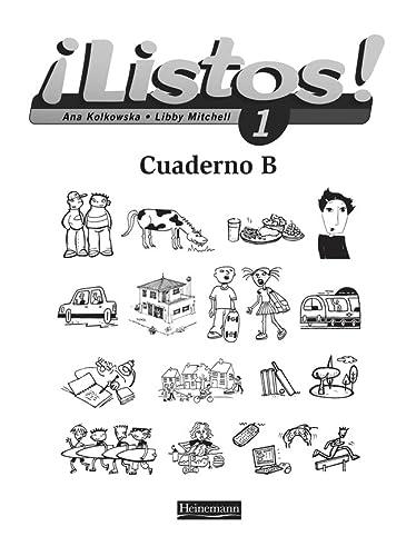 9780435429102: Listos! 1 Workbook B Pack of 8 (Listos for 11-14)
