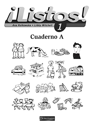 9780435429119: Listos 1 Workbook A Single