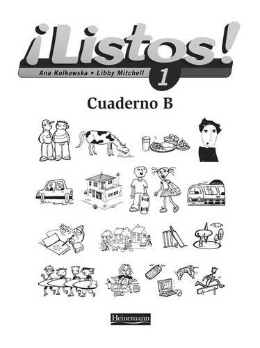 9780435429126: Listos 1 Workbook B Single