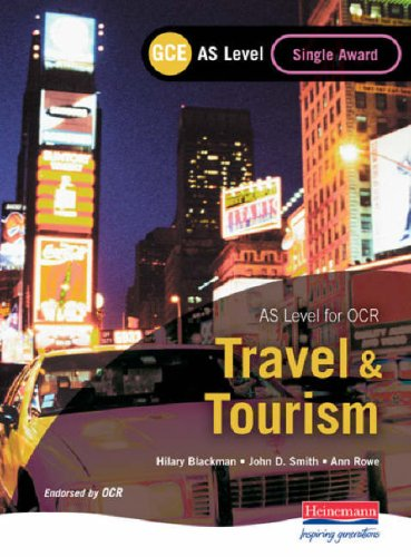 GCE AS Travel and Tourism for OCR: Stewart, Sue, Blackman,