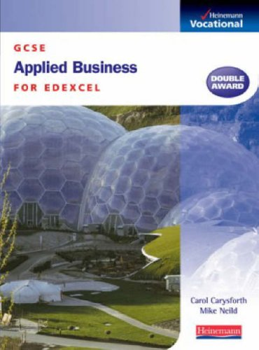 9780435447205: GCSE Applied Business Edexcel: Student Book