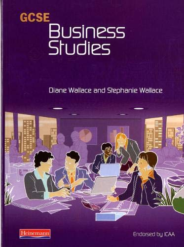 9780435450168: GCSE Business Studies for ICAA Student Book