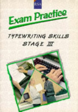 9780435451523: R. S. A. Examination Practice: Stage 3: Typewriting Skills