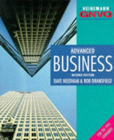 9780435452551: Business Advanced 2nd Edition :Student Book (Heinemann GNVQ)