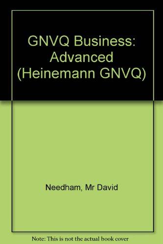 9780435452681: Business Advanced Tutor's Resource Pack (Heinemann GNVQ)