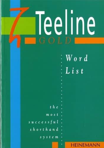 9780435453596: Teeline Gold Word List