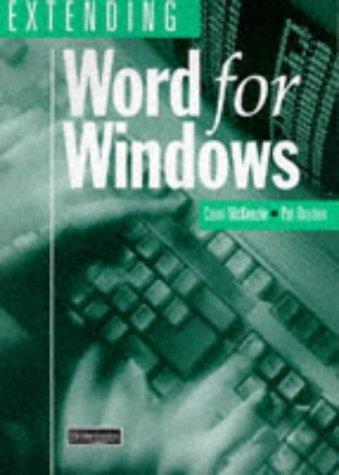 9780435454197: Extending Word For Windows