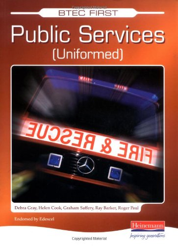 9780435454593: BTEC First Public Services Student Book