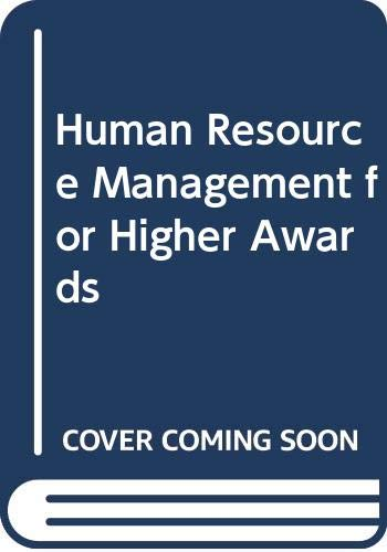 9780435455286: Human Resource Management for Higher Awards