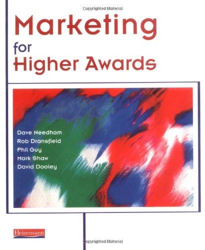 9780435455293: Marketing for Higher Awards (Business for Higher Awards with Marketing for Higher Awards)
