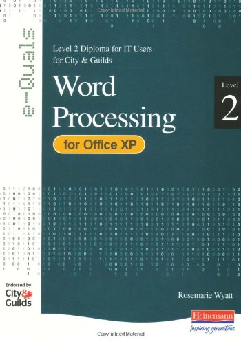 9780435462536: e-Quals Level 2 Office XP Word Processing