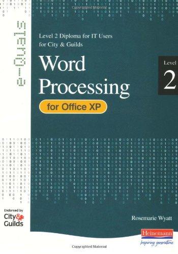 9780435462536: E-Quals Level 2 Word Processing for Office XP (E-Quals)