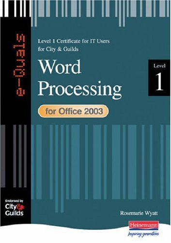 9780435464264: e-Quals Level 1 for Office 2003 Word Processing