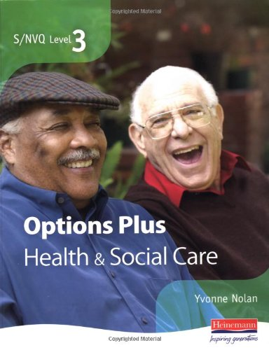 9780435464653: S/NVQ Level 3 Health and Social Care Candidate Book Options Plus