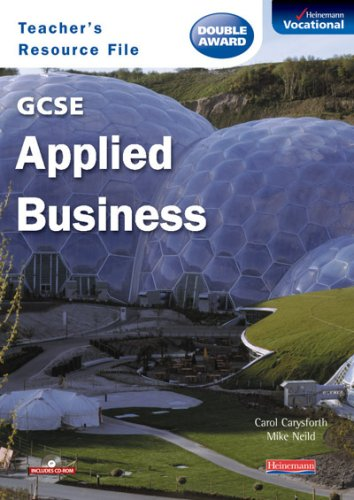 9780435471002: GCSE Applied Business Teachers Resource File & CD-ROM
