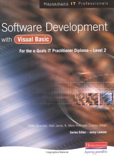 9780435471521: Software Development with Visual Basic (Heinemann IT Professionals)