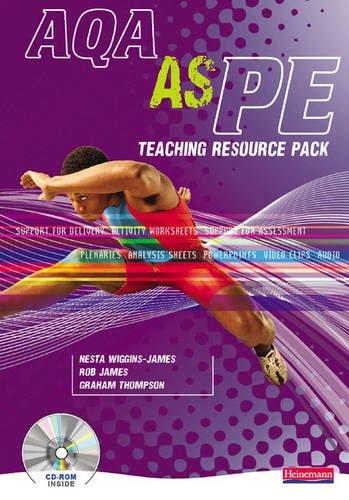 9780435499525: AQA AS PE Teaching Resource Pack (AQA A Level PE)