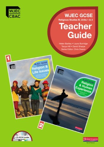 9780435501624: GCSE WJEC Religious Studies B: Teacher Guide (unit 1 & 2) with Editable CDROM (WJEC GCSE Religious Studies)