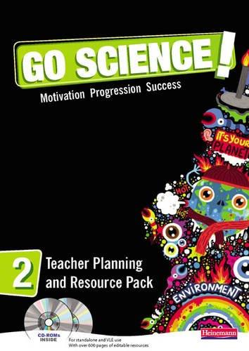 9780435503772: Go Science! Teacher Planning Pack & CD-ROM 2
