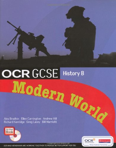 9780435510220: OCR GCSE History B: Modern World History Student Book and CD-ROM