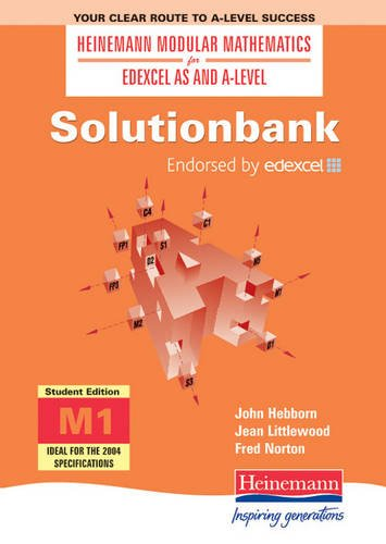 9780435511937: Solutionbank: Mechanics: Student Edition 1 (Heinemann Modular Mathematics for Edexcel AS & A Level Solutionbank)