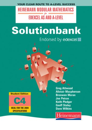 9780435512026: Solutionbank: Core Maths 4 Student Edition (Heinemann Modular Mathematics for Edexcel AS and A Level)